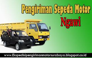 JASA PENGIRIMAN SEPEDA MOTOR SURABAYA-NGAWI
