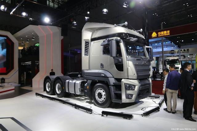 JMC apresenta na China caminhão derivado do Ford Cargo