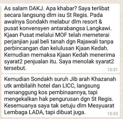 Peter Sondakh Dan Najib Razak