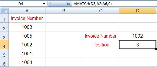 دوال البحث في Excel