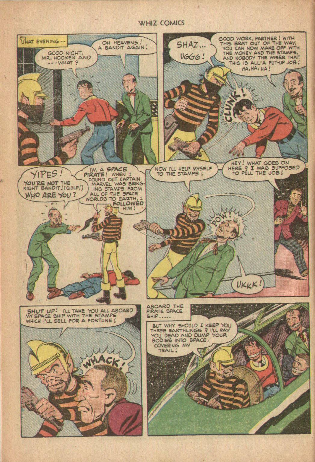 WHIZ Comics issue 137 - Page 8