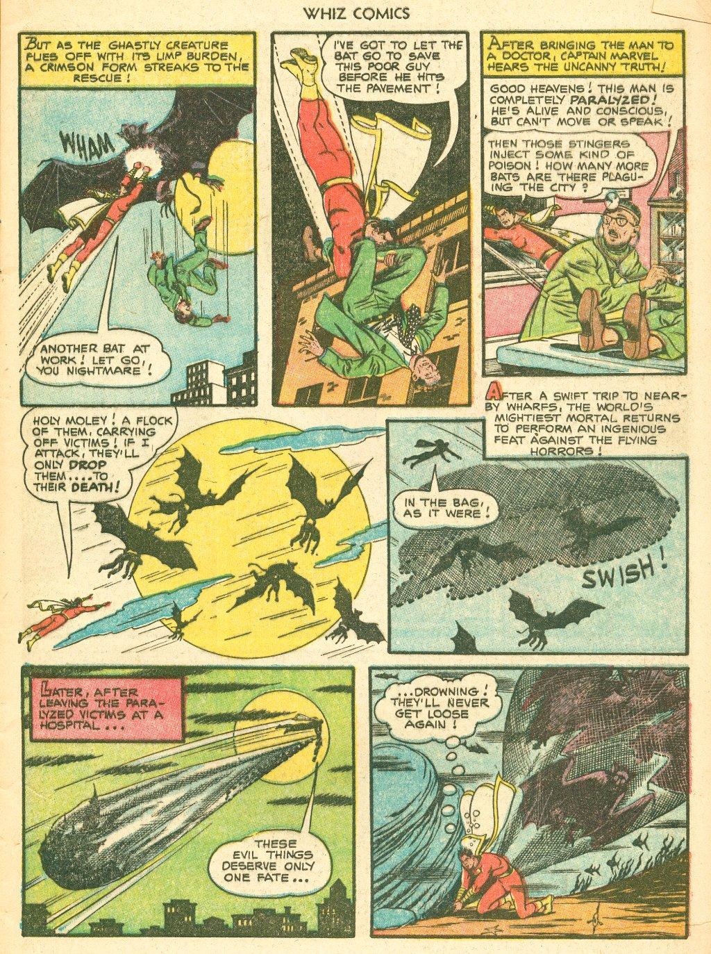 WHIZ Comics #155 #156 - English 5