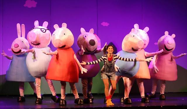 """Θεατρική Παράσταση με την """"Πέππα το γουρουνάκι"""" το Σάββατο 31 Μαρτίου στο Άργος"""