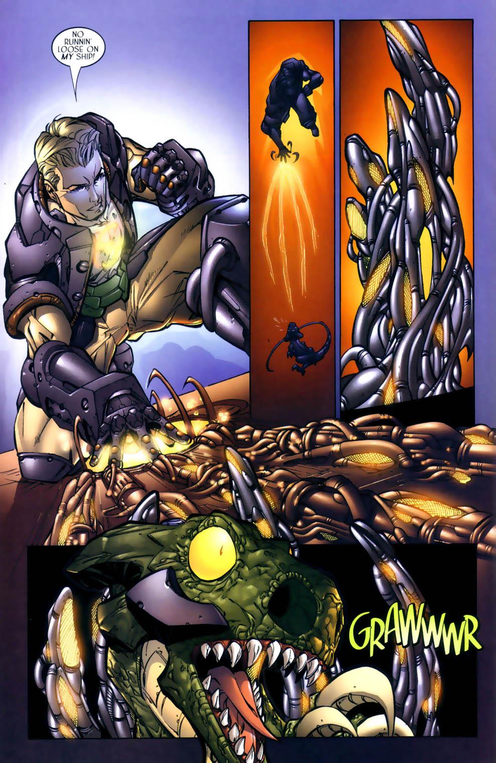 Read online Sigil (2000) comic -  Issue #2 - 21
