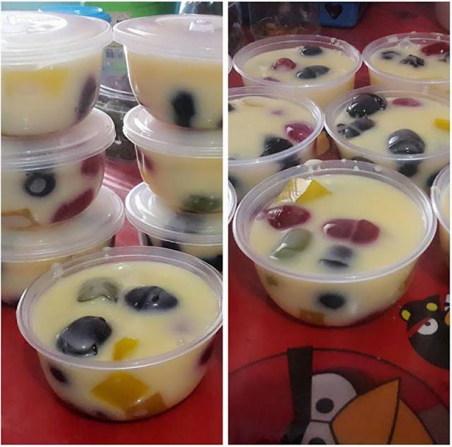 Resep Cara Membuat Pudding Jelly Tepung Custard
