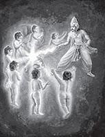 Indra Zeus Weltenbaum als Blitz - Baum des Lebens