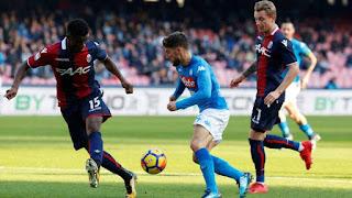 Watch Napoli vs Bologna live Stream Today 29/12/2018 online Italy Serie A
