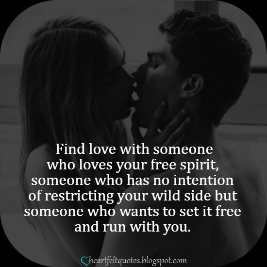 Find love with someone who loves your free spirit ...
