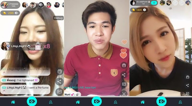 Video Call di Bigo Live