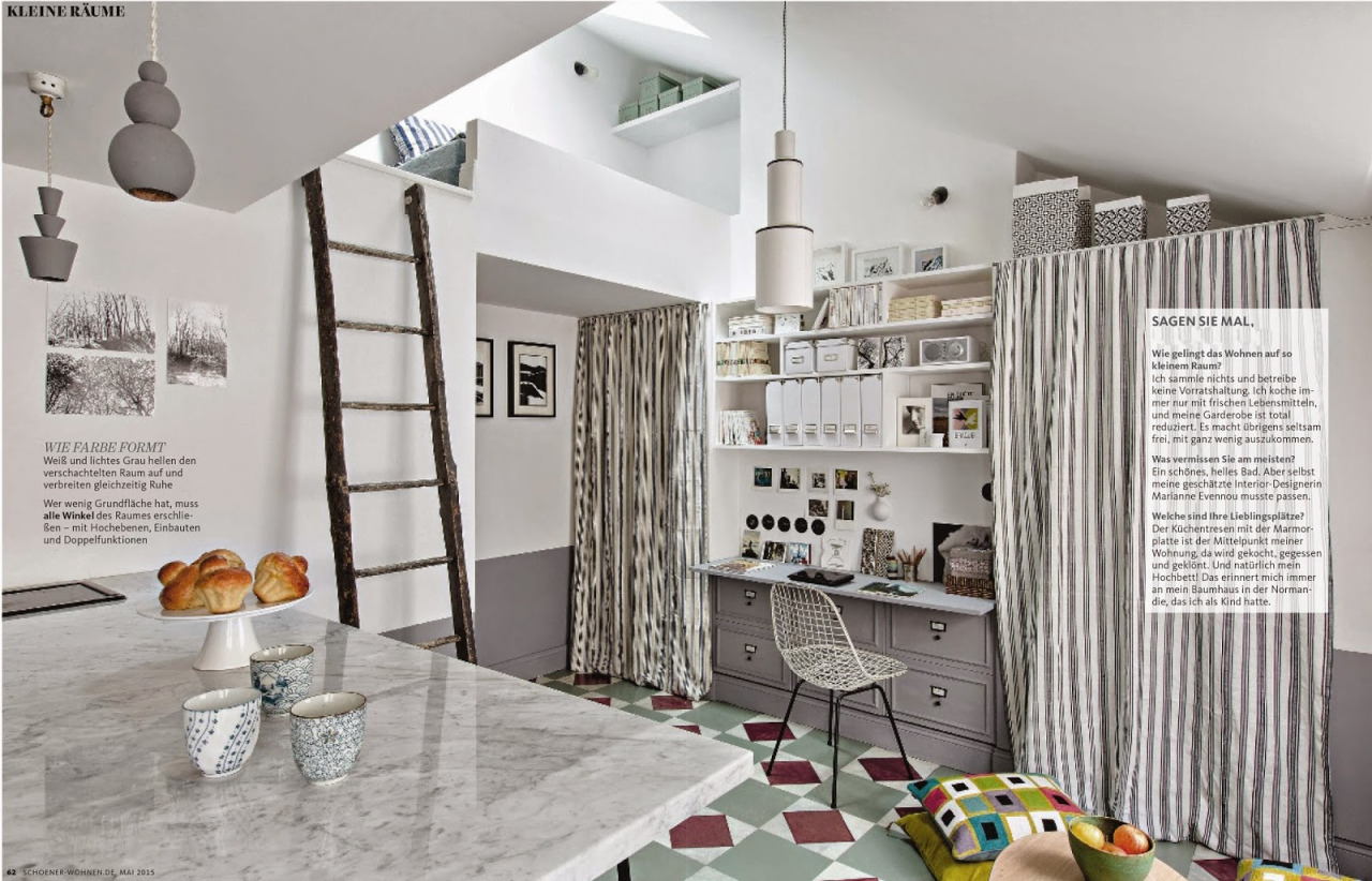 Wohnen In Paris Tiny Apartment In Paris (270 Sq Ft) - Tiny House Town