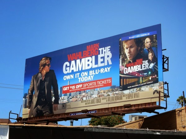 The Gambler Bluray billboard