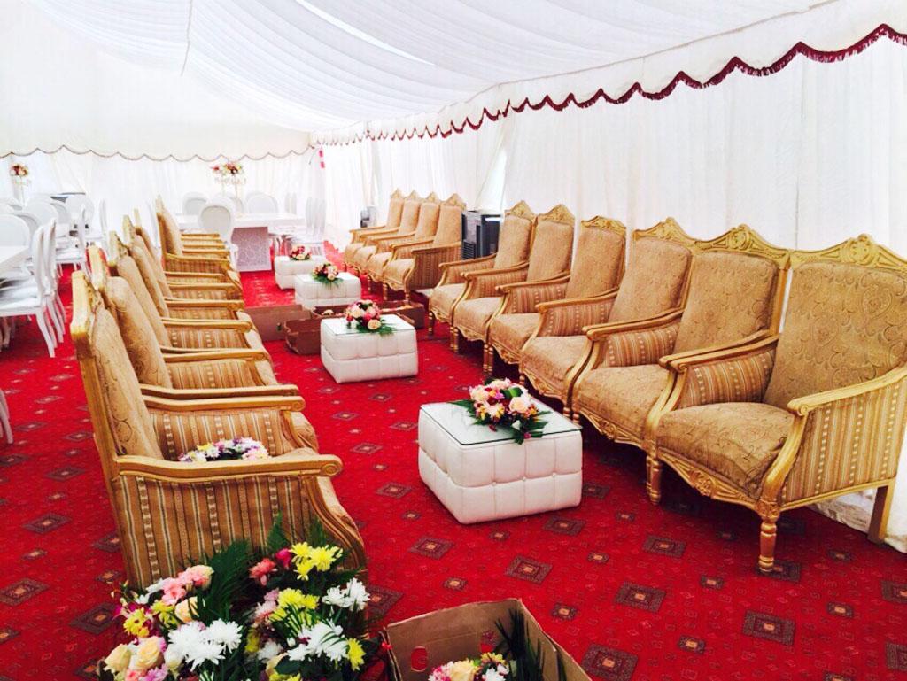 Arabic Majlis Tents Rental Arabic Majlis Tents