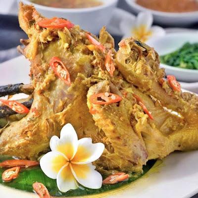 Resep Ayam Goreng Panggang Betutu Khas Gili Manuk Enak Lezat Resepi Oke Blog