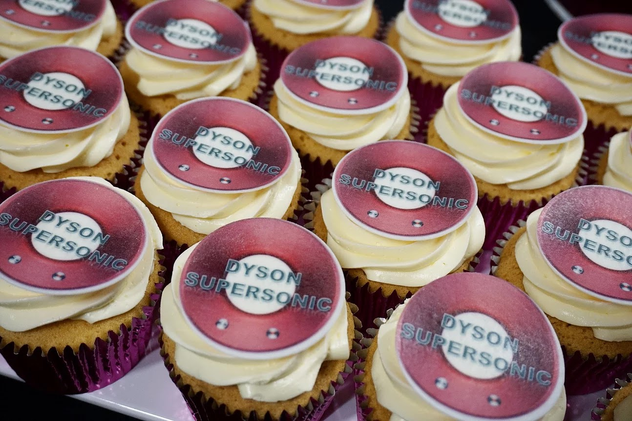 Dyson Supersonic Cupcakes by the Blonde Bakery