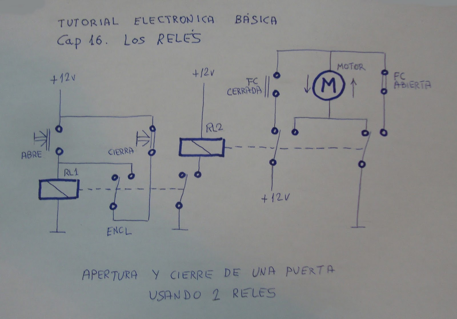 Circuito Electrico Basico : Diagrama electrico basico de refrigeracion auto wiring diagram