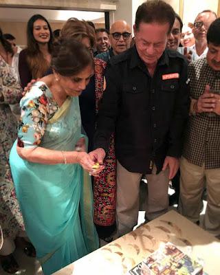 Salim-Khan-cutting-his-birthday-cake-with-Salma-Khan