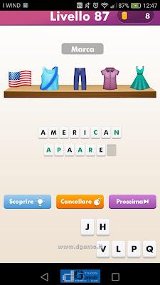 Emoji Quiz soluzione livello 87