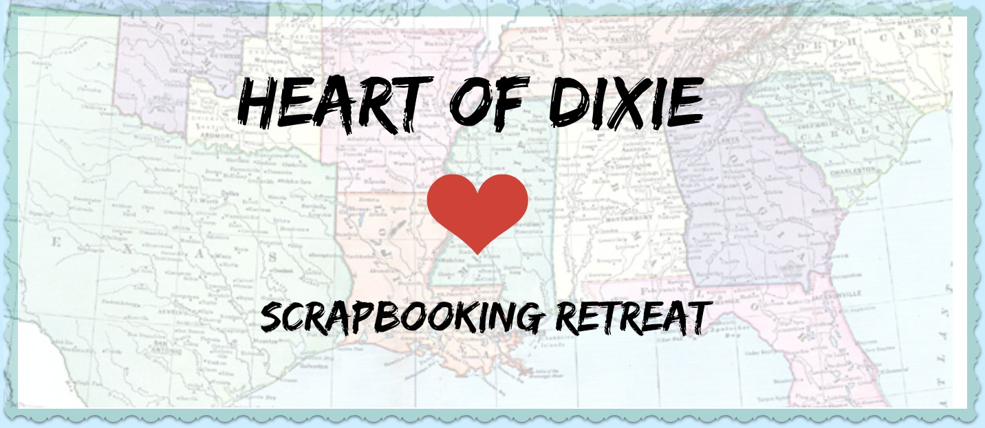Memphis Area Scrapbooking Crops And Retreats Heart Of Dixie