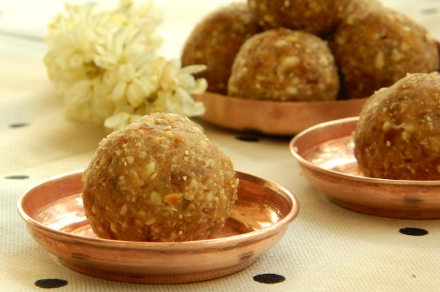 dates peanuts laddu, peanut dates ladoo