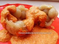 Resep Cimol Cilok Beranak Siram Saus Kacang