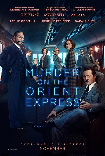 Poster of Murder on the Orient Express (2017) Dual Audio 1080p BluRay ESubs Download