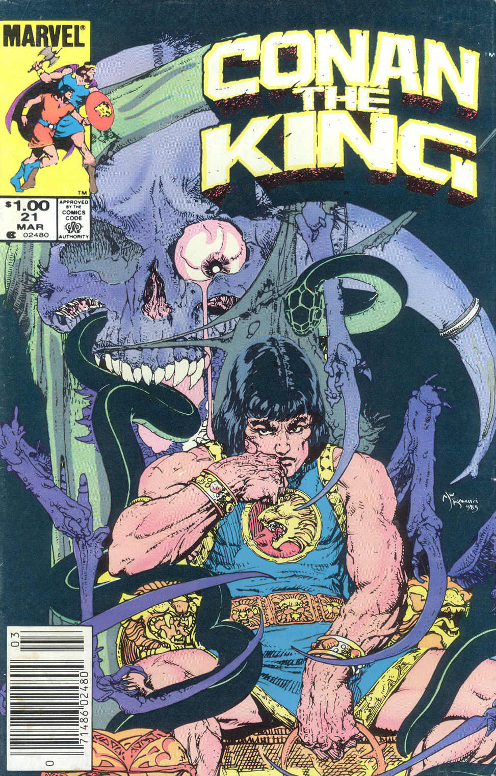 Conan the King 21 Page 1