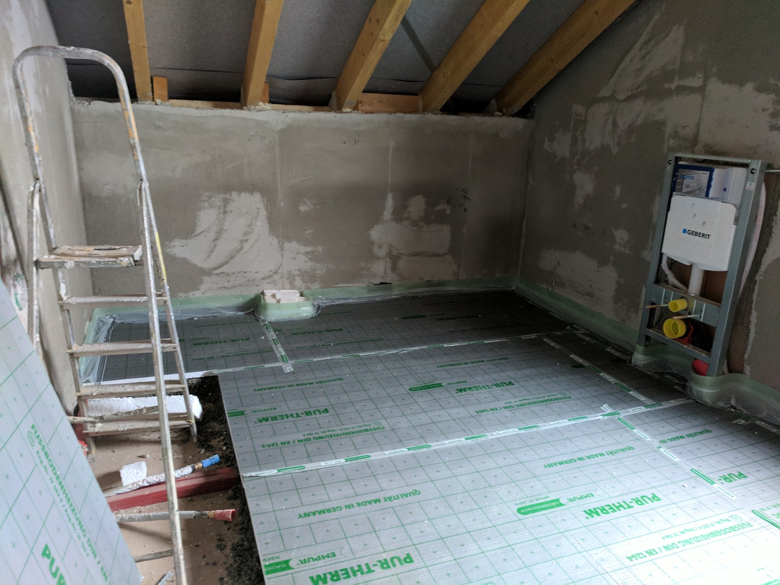 Fußboden Querschnitt ~ Estrich fußbodenheizung und anschlüsse hausbau mit czech bau gmbh