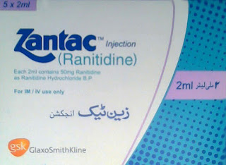 Zantac 2ml Injection