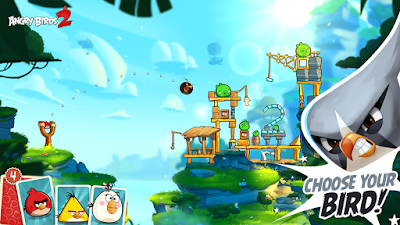 Angry Birds 2 MOD APK+DATA Unlimited Gems 2.6.5 For Android