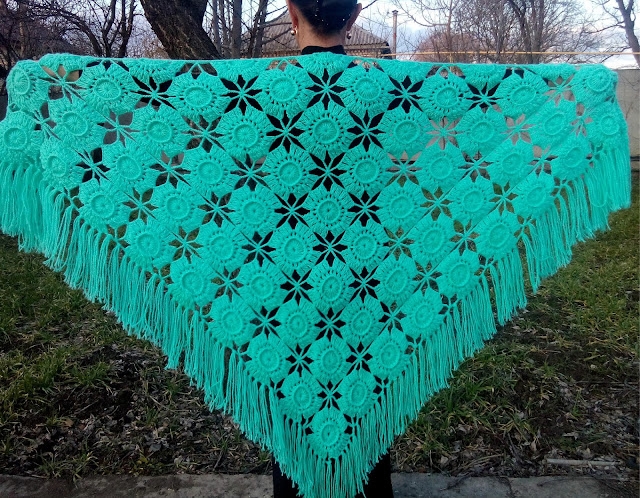 Crochet shawl patterns for beginners. - CK Crafts