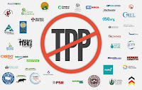 40 environmental groups have signed a letter urging Congress to reject the TransPacific Partnership. (Credit: Dylan Petrohilos/Think Progress) Click to Enlarge.