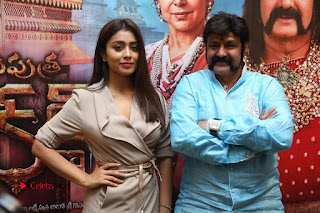 Shriya Saran Nandamuri Balakrishna at Gautamiputra Satakarni Team Press Meet Stills  0194.JPG
