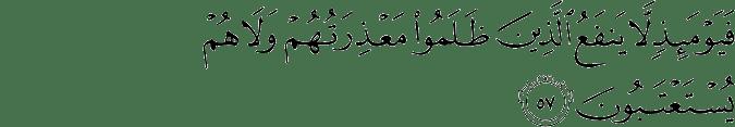 Surat Ar Rum Ayat 57
