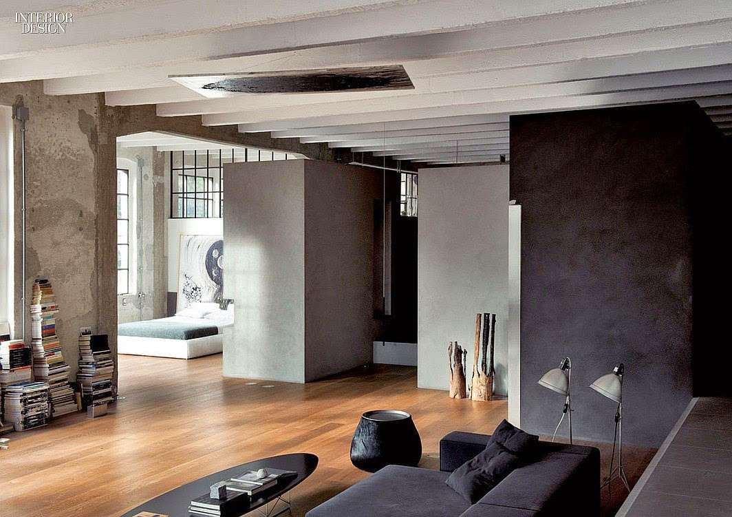 Decordemon raw loft in como by italian architect and artist marco vido - Interior design como ...