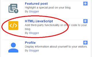Add a Gadget HTML/Javascript