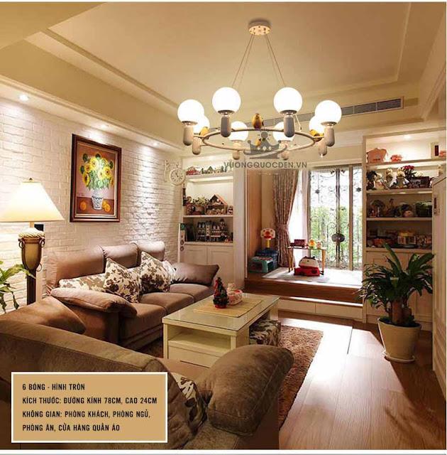 Ngắm những mẫu đèn trang trí phòng khách nhỏ gọn, tinh tế phù hợp với gia đình nhỏ