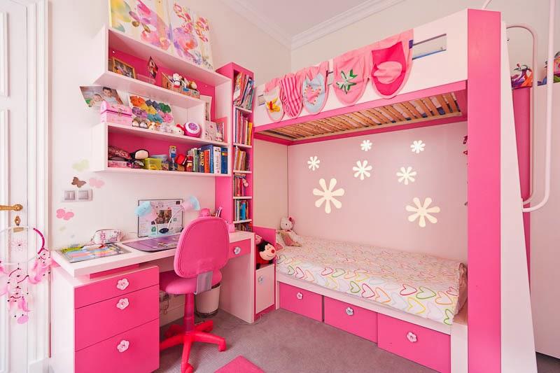 chica morada y rosa habitacion deco dormitorio color rosa para dos ni as dormitorios colores
