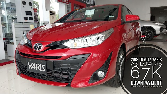 Promo: 2018 Toyota YARIS 67k Down - 2018 Mid-Year Toyota Batangas All-in Promos (Philippines)
