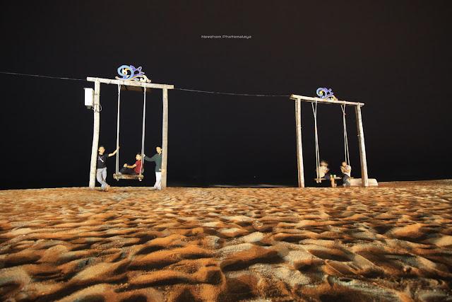 Buai besar di Pantai Batu Buruk - Night shot