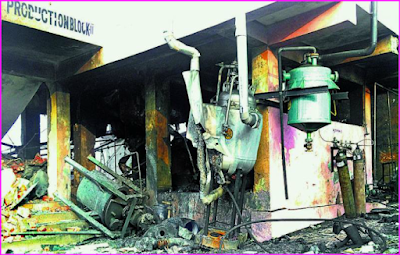 Pharma Reactor Blast Kills Six Workers in Hasita aromatics pvt ltd