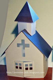 Little Vellum Paper Church