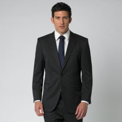 Perfect gentleman black and navy blue for Navy suit black shirt