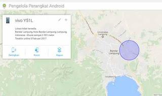 menemukan android hilang atau dicuri