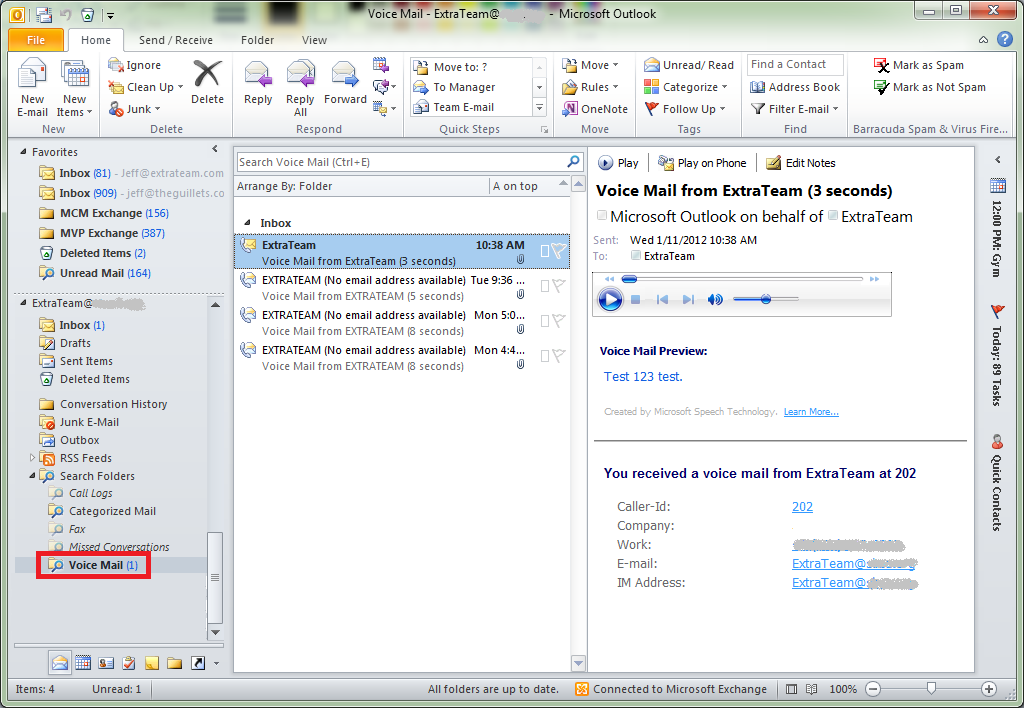 how to keep message unread in outlook 2007