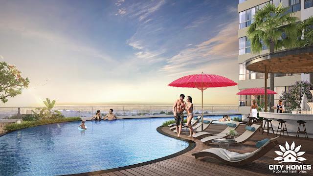 Bể bơi dự án Hinode City