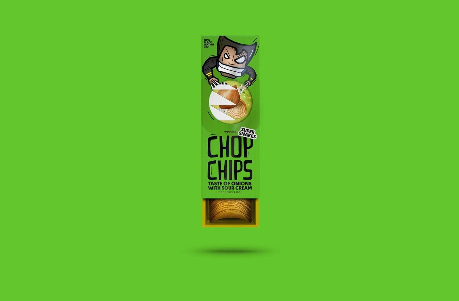 Super Snakes Chop Chips