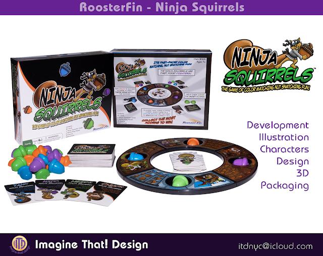 game design and development designed and illustrated by Traci Van Wagoner and Kurt Keller at Imagine That! Design