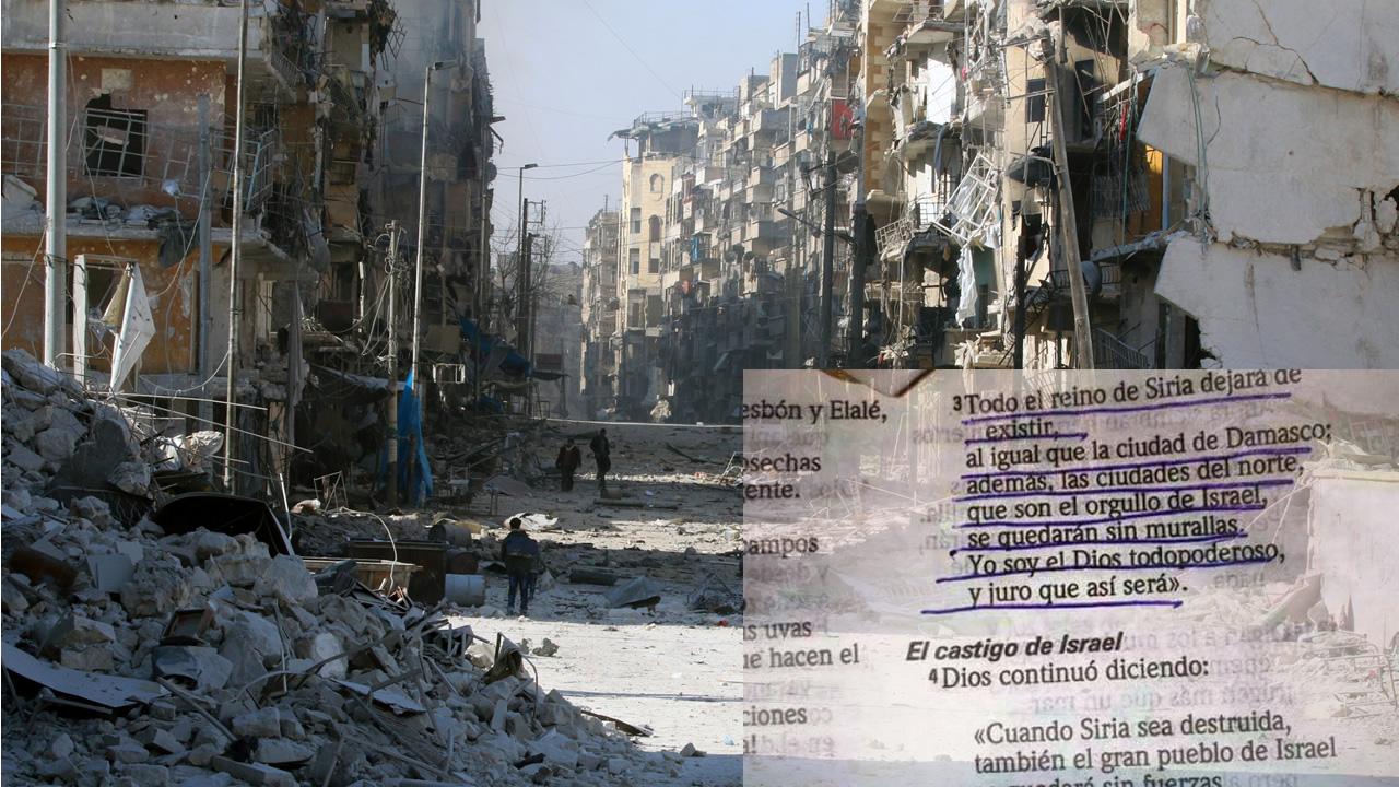¿Predijo la Biblia la Guerra en Siria? Expertos analizan texto viral