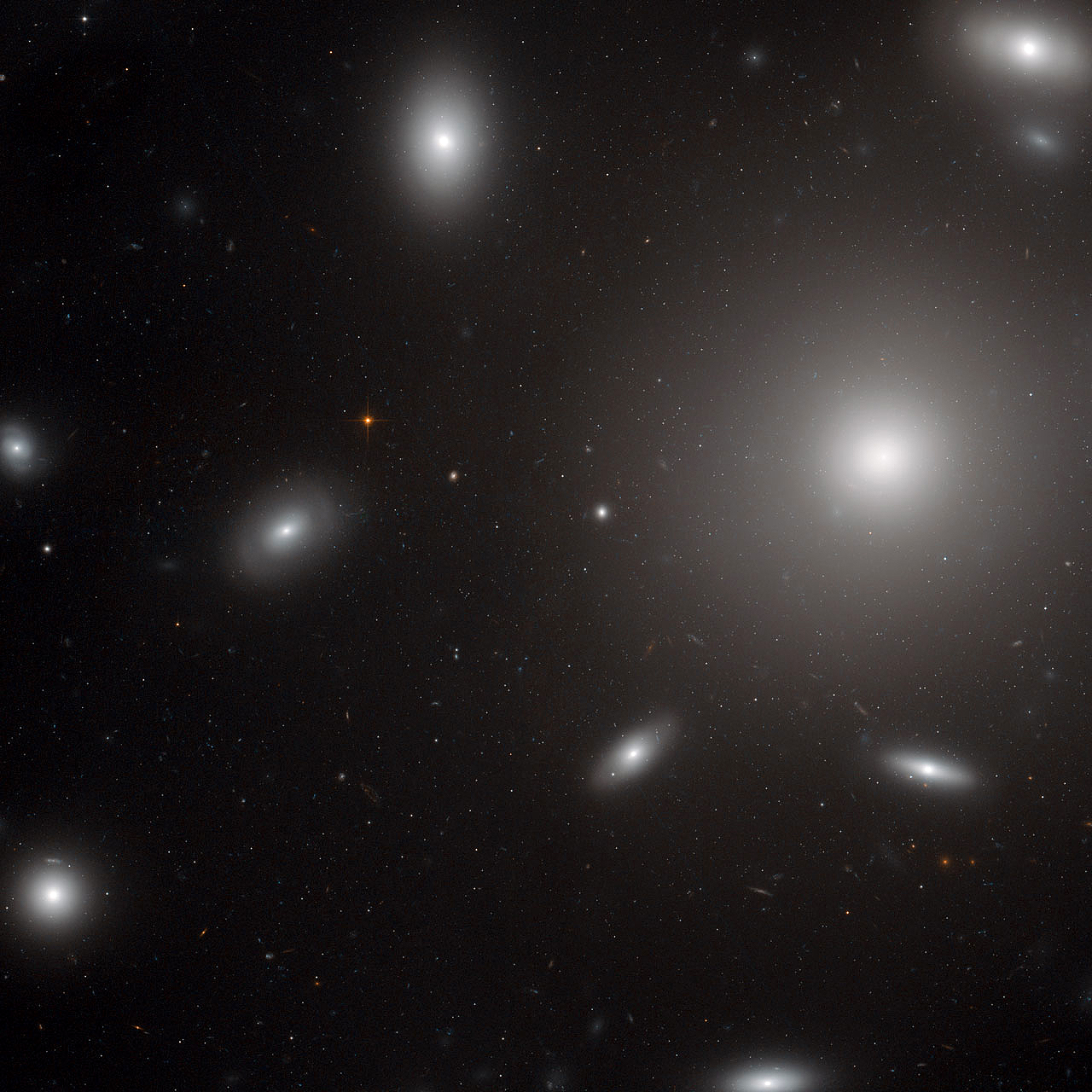 giant elliptical galaxies - photo #14