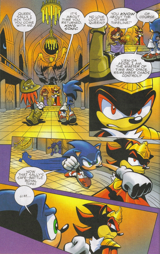Read online Sonic The Hedgehog comic -  Issue #167 - 8